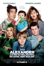 movie, family entertainment, kids movie, comedy, alexander and the terrible horrible no good very bad day